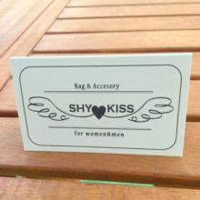 SHYKISS様 ショップカード表