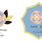 エコズデザインのグッズ展開用ロゴB案