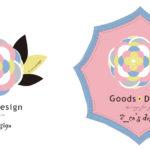 エコズデザインのグッズ展開用ロゴC案