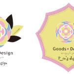 エコズデザインのグッズ展開用ロゴD案