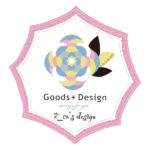 エコズデザインのグッズ展開用ロゴA案(枠アリ)